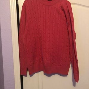KITON SWEATER 8-PLY CABLE CREWNECK REGAL CASHMERE